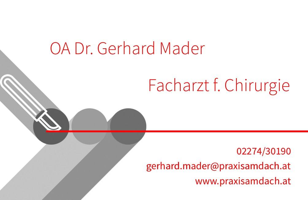 Gerhard Mader